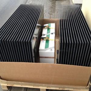 Bild: Verpackung vor der Containerverschiffung
